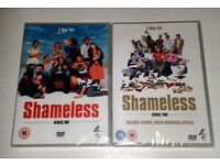 Shameless DVDs - Series 1 and 2