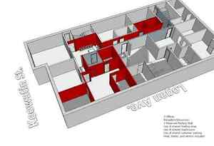 Low Cost Office Space in a Busy Location