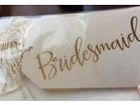 Luxury Wedding gift tags x12