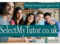 Want To Improve Your Grades In Maths? Choose 'Select My Tutor' (10,000+ Tutors For GCSE/A-Level)