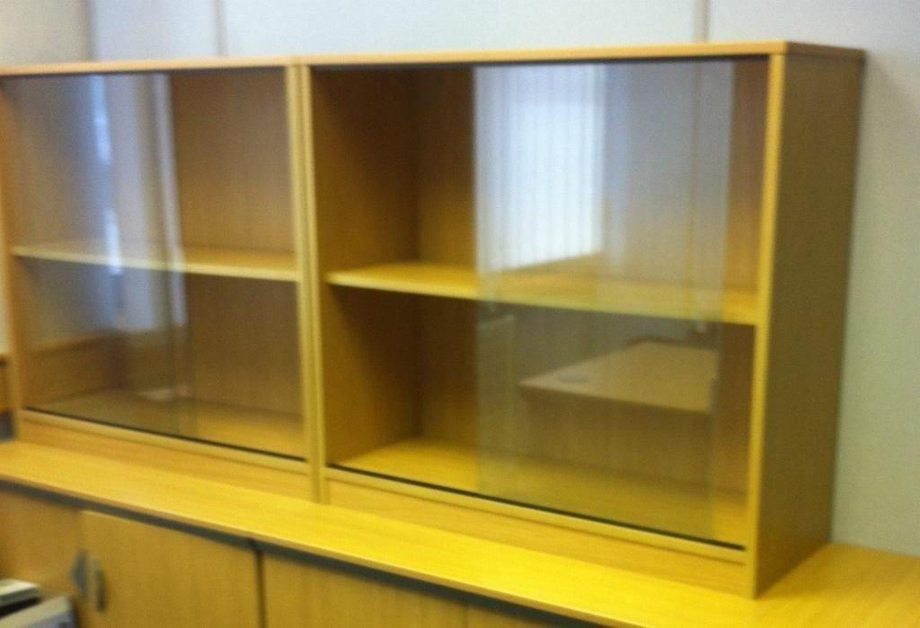 Sliding glass bookcase or glass fronted display cabinet for Sliding glass doors gumtree