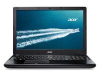 Acer TravelMate P255 Windows 10 Laptop - Intel Core i5 - Black