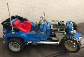 1995 lego hot rod. Box and instructions included set number 5541
