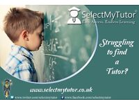 More than 10,000 Experienced & Qualified Tutors for English/Chemistry/Maths/IT/French/Spanish
