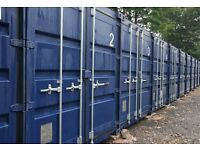 Secure Storage Containers for Rent - £21 per week