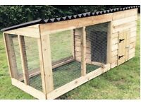 New 8ft dog kennel and run