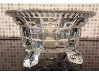Cut Glass Bowl W23cm x H12cm