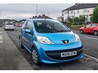 Peugeot 107 Urban, Low Mileage, Great Condition, MOT till March 2017