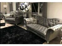 ELEGANCE Chesterfield sofa available fast delivery