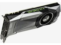 Founders Edition Nvidia GTX 1080 3 months old