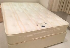2 Sleepeezee King Size Orthopaedic Mattresses in Excellent Condition