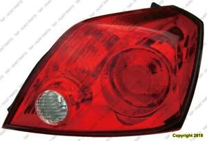Tail Light Passenger Side Coupe Nissan ALTIMA 2008-2013
