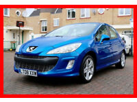 2008 PEUGEOT 308 1.6 SPORT 5DR --- Manual --- Part Exchange Welcome --- Drives Good