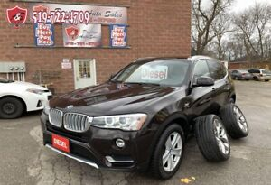 2015 BMW X3 xDrive28d/DIESEL/4WD/ONE OWNER/NO ACCIDENT