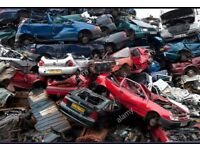 Scrap cars and vans wanted best paid on the net between £50-£130