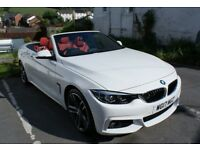 BMW 420d M Sport Convertible 2017 with Apple Car Play