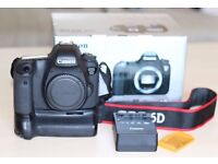 Canon EOS 6D 20.2MP Digital SLR Camera Body & Battery Grip (2569 Actuations) - Wifi & GPS Enabled