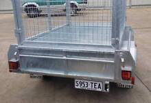 6x4 Heavy Duty Galvanised Caged Trailer Welland Charles Sturt Area Preview