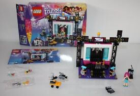 Excellent condition LEGO Friends Pop Star TV Studio Set 41117 girls building bricks bundle toys