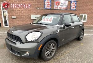 2013 Mini Cooper Countryman S/ALL4/NO ACCIDENT/CERTIFIED