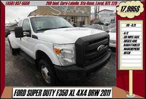 2011 Ford Super Duty F-350 DRW XL 4X4 A/C CD/AUX