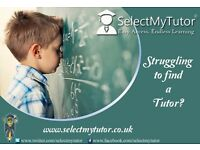 Thousands of Maths & English Tutors at Select My Tutor- GCSE/Teacher/Primary/A-Level