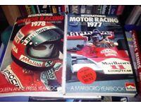 1977 & 1978 Marlboro McLaren Formula 1 Motor Racing Yearbooks RARE