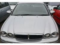2001-Jaguar X - Type 2.5 -Petrol - in Silver - BREAKING for SPARE PARTS