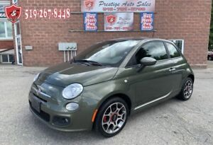 2012 Fiat 500 Sport/1.4L/NO ACCIDENT/SAFETY INCLUDED