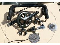 Shimano Tiagra 4800 complete Groupset – brand new!