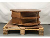 Designer teak coffee table