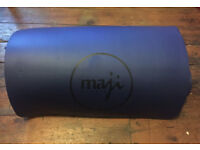 Yoga mat- blue and thickly padded