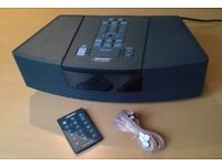Bose Wave Clock / Radio / CD Player / Alarm model AWRC3G in full working order with aerial & remote