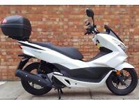 Honda PCX 125cc (16 REG), Excellent Condition, only 1658 miles!