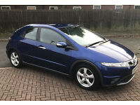 Honda civic 2.2 diesel 2009 blue