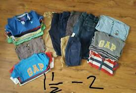Boys clothes age 1.5 - 2 years