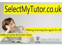 10,000+ Private Tutors for GCSE & A-Level English/Maths/Physics/Biology/Chemistry/Spanish/French