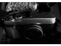 for sale fuji xe1 c/w xc16-50mm lens,