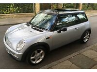 AUTOMATIC MINI COOPER VERY LOW MILEAGE PANORAMIC ELECTRIC SUNROOF LEATHER TRIM AIR CONDITIONING AUTO