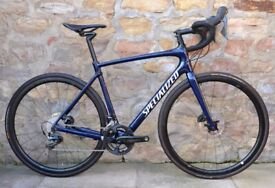 COST £6500. 2018 SPECIALIZED ROUBAIX PRO DURA-ACE DISC CARBON ROAD BIKE. ONLY 7.75 KG