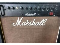"""Vintage Rare 1987 MARSHALL Inergrated 200w 1x15"""" BASS AMPLIFIER Combo"""