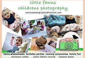 Children's Photographer (also offering free home photoshoots for ages 7-12 mnths in West End only)