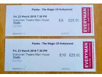 2 x Tickets The Magic of Hollywood with Pasha Kovalev & Anya Garnis - Cheltenham