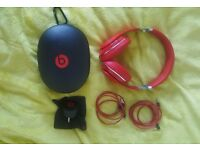 Used - Like New Beats Studio 2.0 Wired Over-Ear Headphone - Red £110