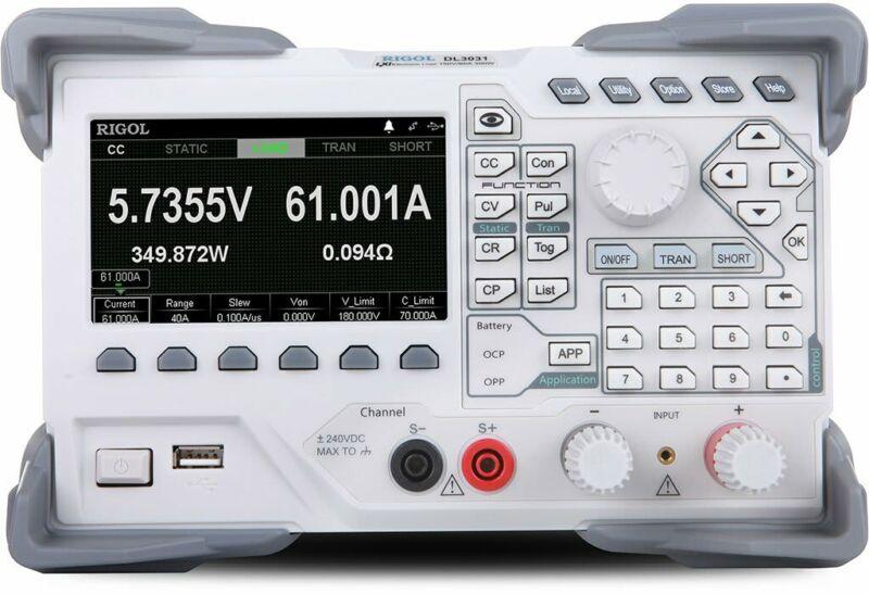 Rigol DL3031 Programmable DC Electronic Load (Single Channel)