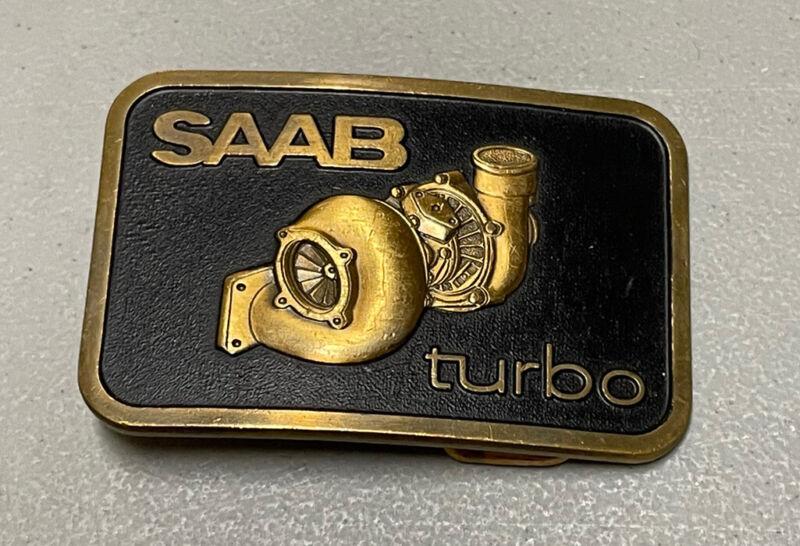 Used Vintage SAAB Belt Buckle