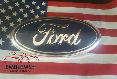 2004-2012 F150 FORD TAILGATE OR GRILLE 9 inch FACTORY BLUE  EMBLEM 3D ALIGNMENT