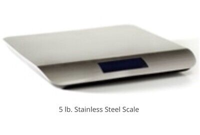 Stainless Steel Scale Digital Shipping Scale Usb New