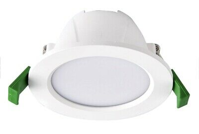 9W LED Dimmable IP44 White Ceiling Downlight Spotlight Tri Colour Adjustable