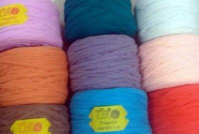 Trapillo Totora Cintillo ---Algodón jersey, todos los colores LIMA PERÚ